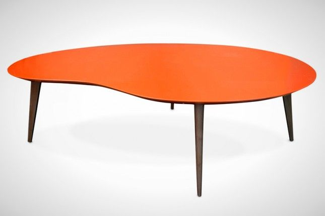 The 50 Most Beautiful Coffee Tables Ever Kidney table Coffee and