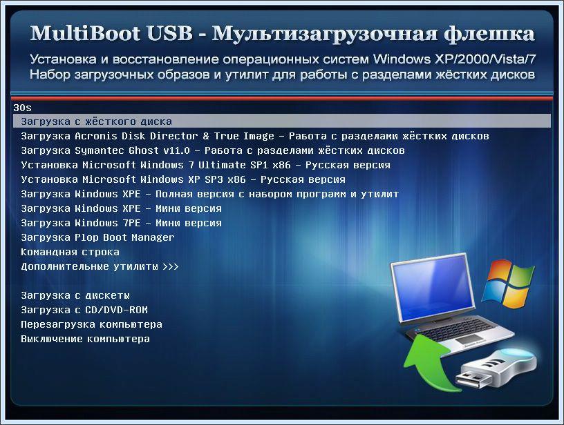 Multiboot usb скачать программу