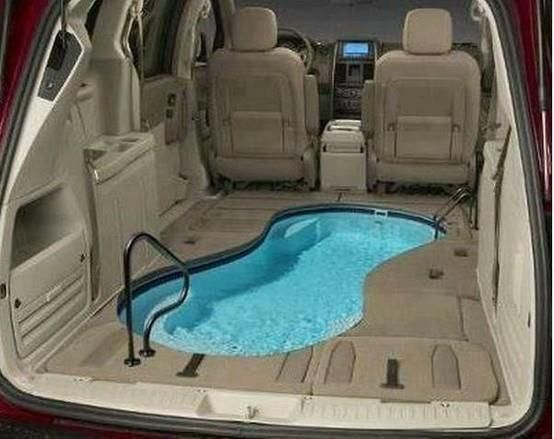 New meaning to car pool cool pools and bars in 2019 - Dream interpretation swimming pool ...