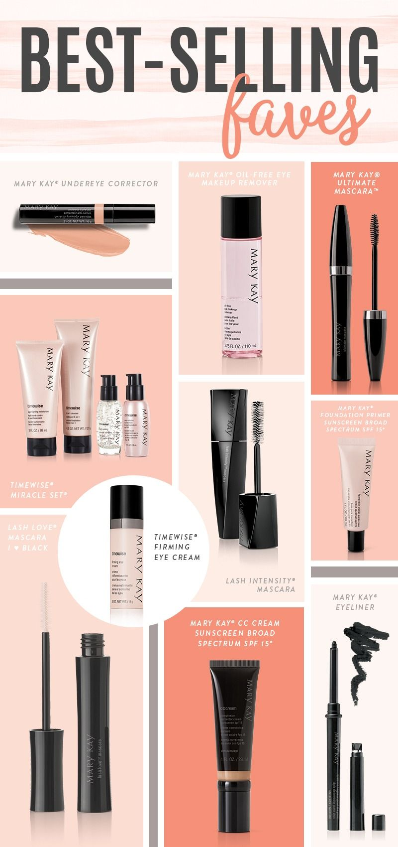 Discover Our Latest Best Selling Favorites Women Love These Mary Kay Beauty Bests Try Them Mary Kay Eyeliner Mary Kay Cosmetics Mary Kay Undereye Corrector