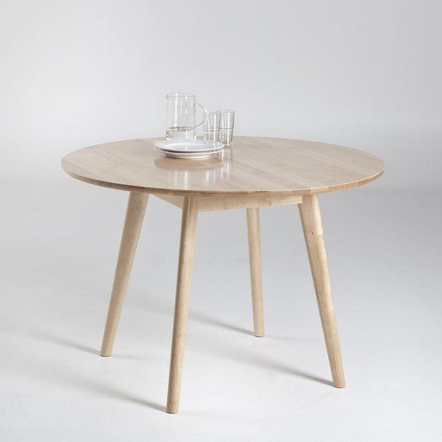 table ronde 6 personnes jimi les petits prix prix avis notation livraison esprit vintage allure sobre et elegante la table ronde n oublie pas