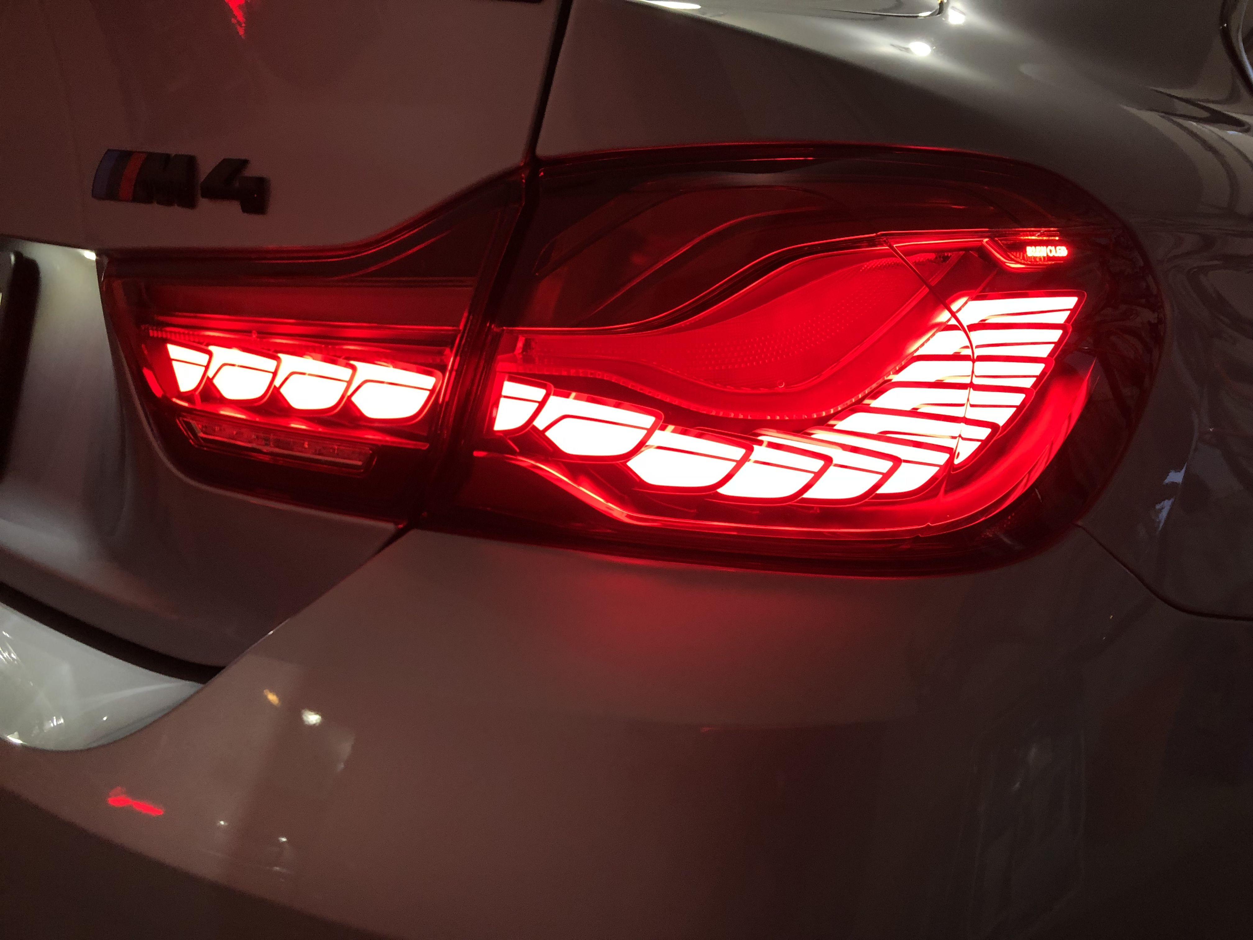 Bmw M4 Tail Light Upgrade To Gts Tail Lights Bmw M4 Bmw Tail