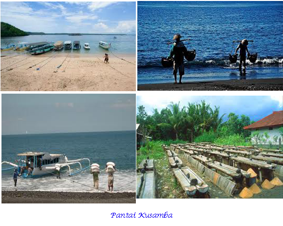 Wisata Ini Menayjikan Keindahan Alam Pantai Dan Manfaat Yang Didapat Sebagai Salah Satu Patai Yang Diproduksi Untuk Garam Secara Tradisi Pantai Bali Air Terjun
