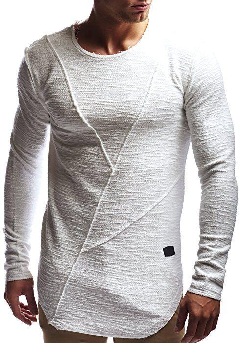 schwarzes basic sweatshirt