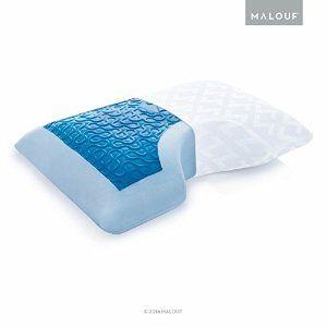 Liquid Gel Dough Memory Foam Pillow