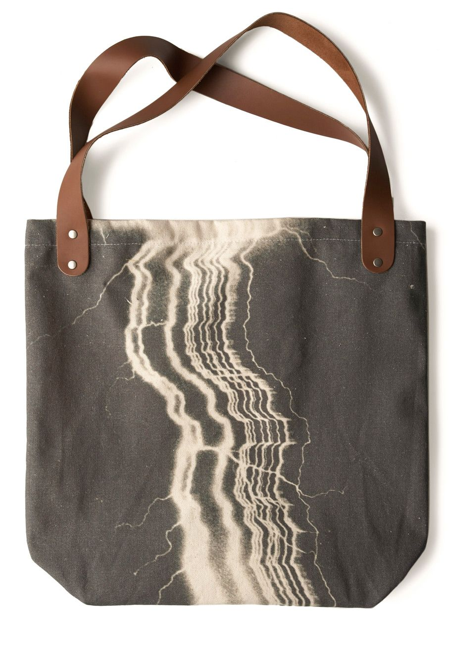 Sunday Market Tote in Lightning by FluffyCo