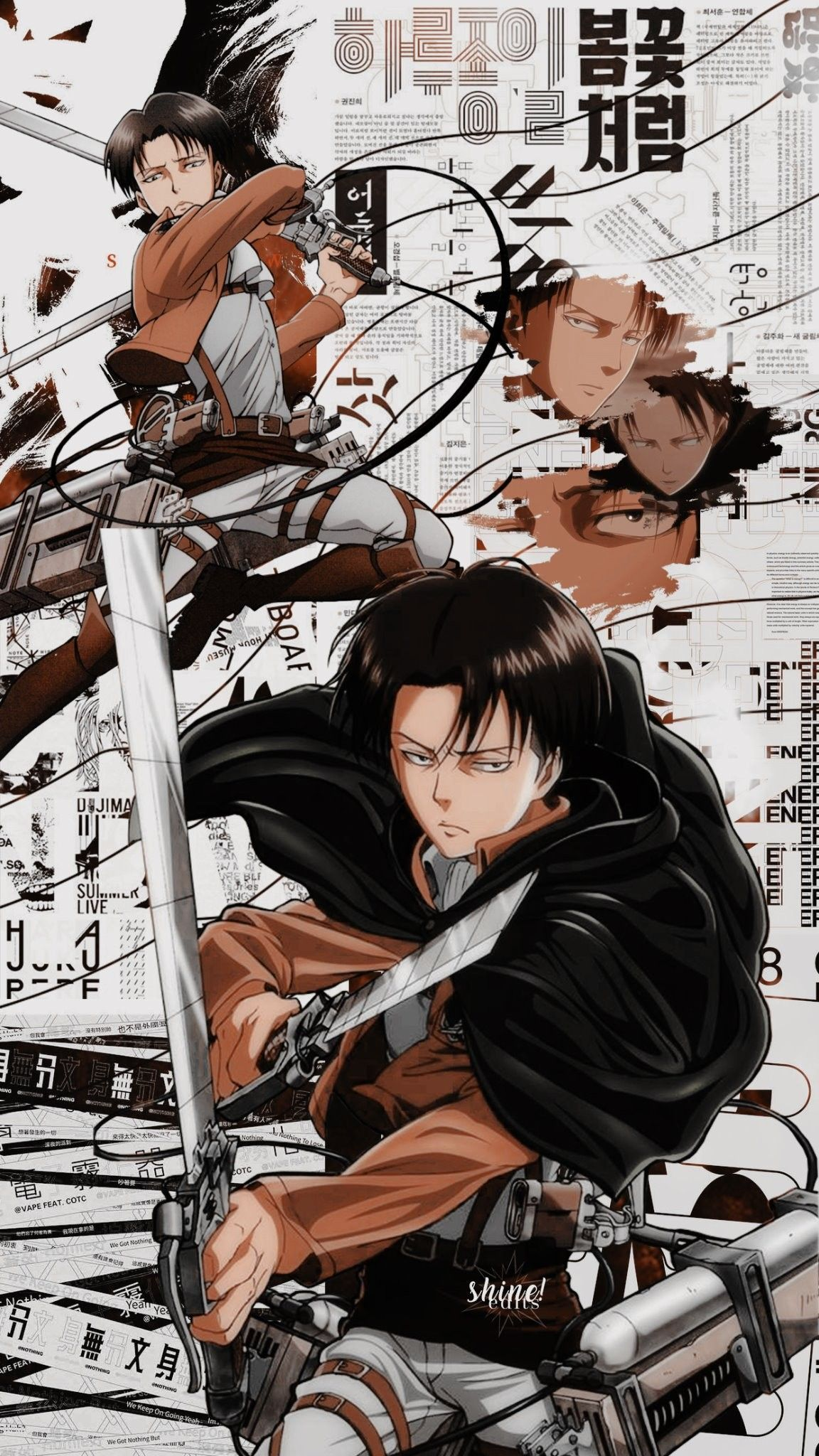 Evi Pour Cent Cksc Reen Attaque Sur Titan Dlts Cine Et Sur Itte R In 2020 Cool Anime Wallpapers Attack On Titan Anime Titans Anime
