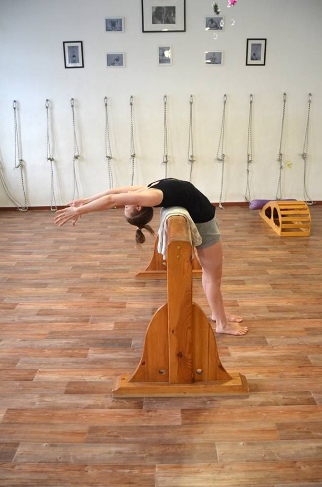 Standing back arch Yoga Props 327b8c34041a