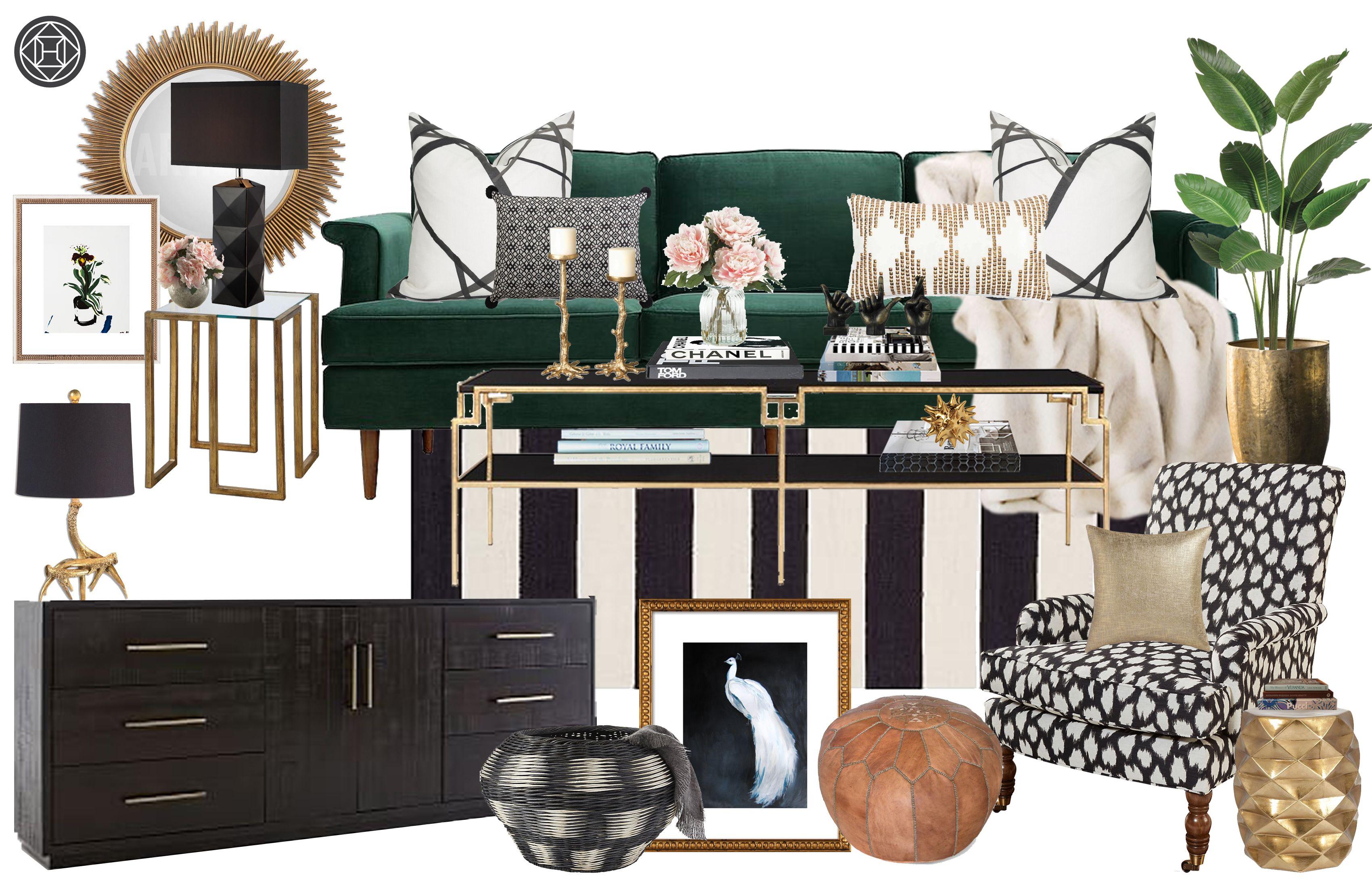 Online Interior Designers Havenly Glam Living Room Glam Living Room Decor Luxe Living Room