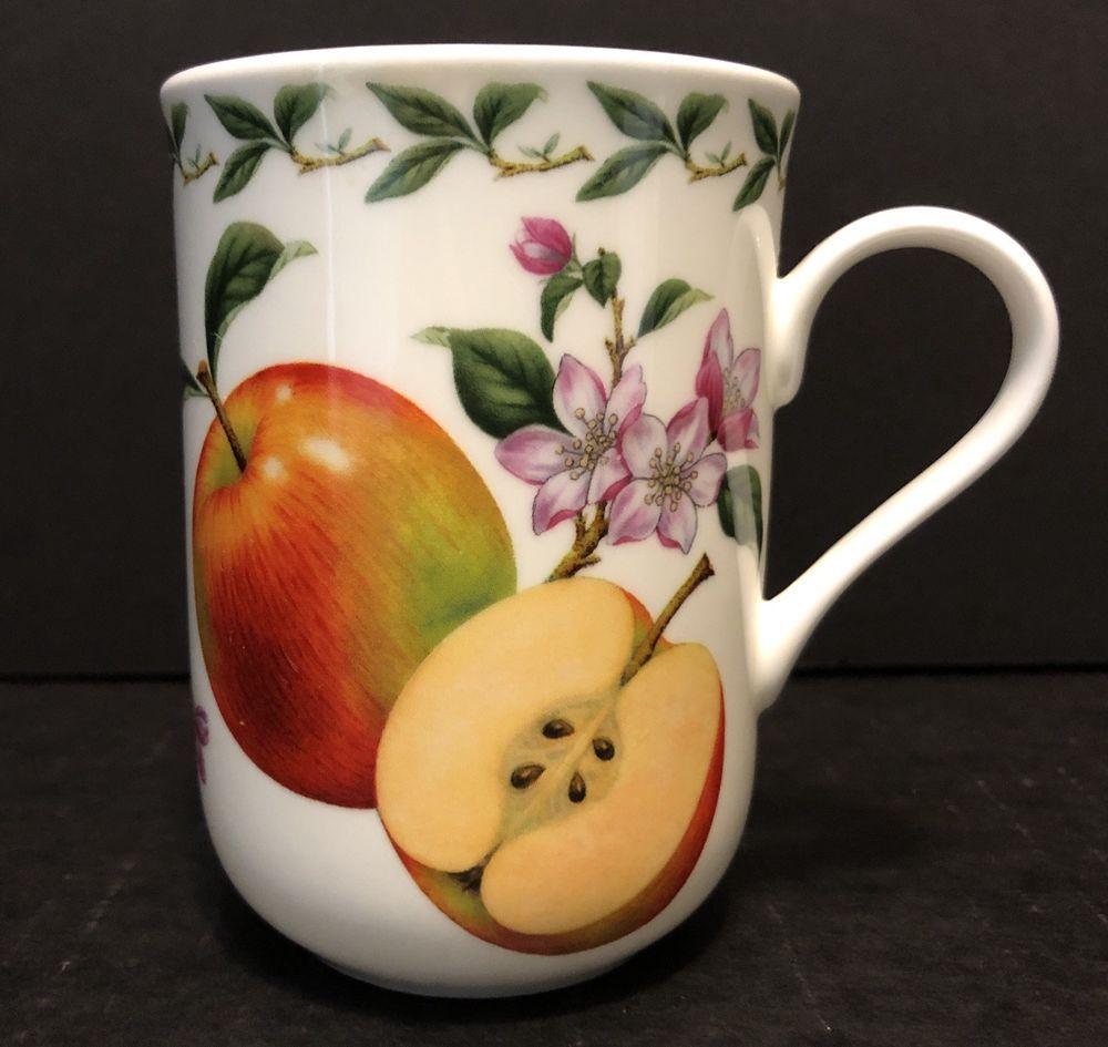 Maxwell Williams Orchard Fruits Apples Coffee Mug Tea Cup Bone China Maxwellwilliams Mugs Tea Cups Coffee Mugs