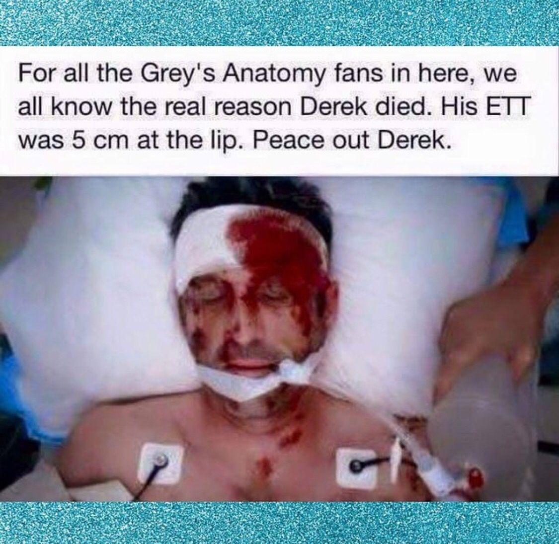 Come on Greys Anatomy ! | BEDSIDE LOL | Icu nursing ...