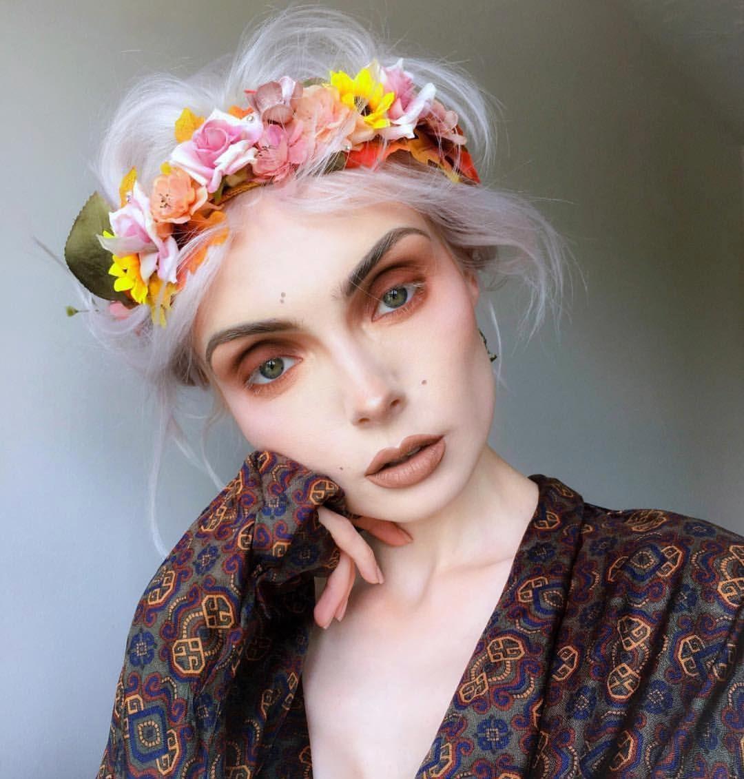 beautsoup feeling her flower power fantasy in sugarpill