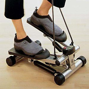 apartment sized stepper  step workout no equipment