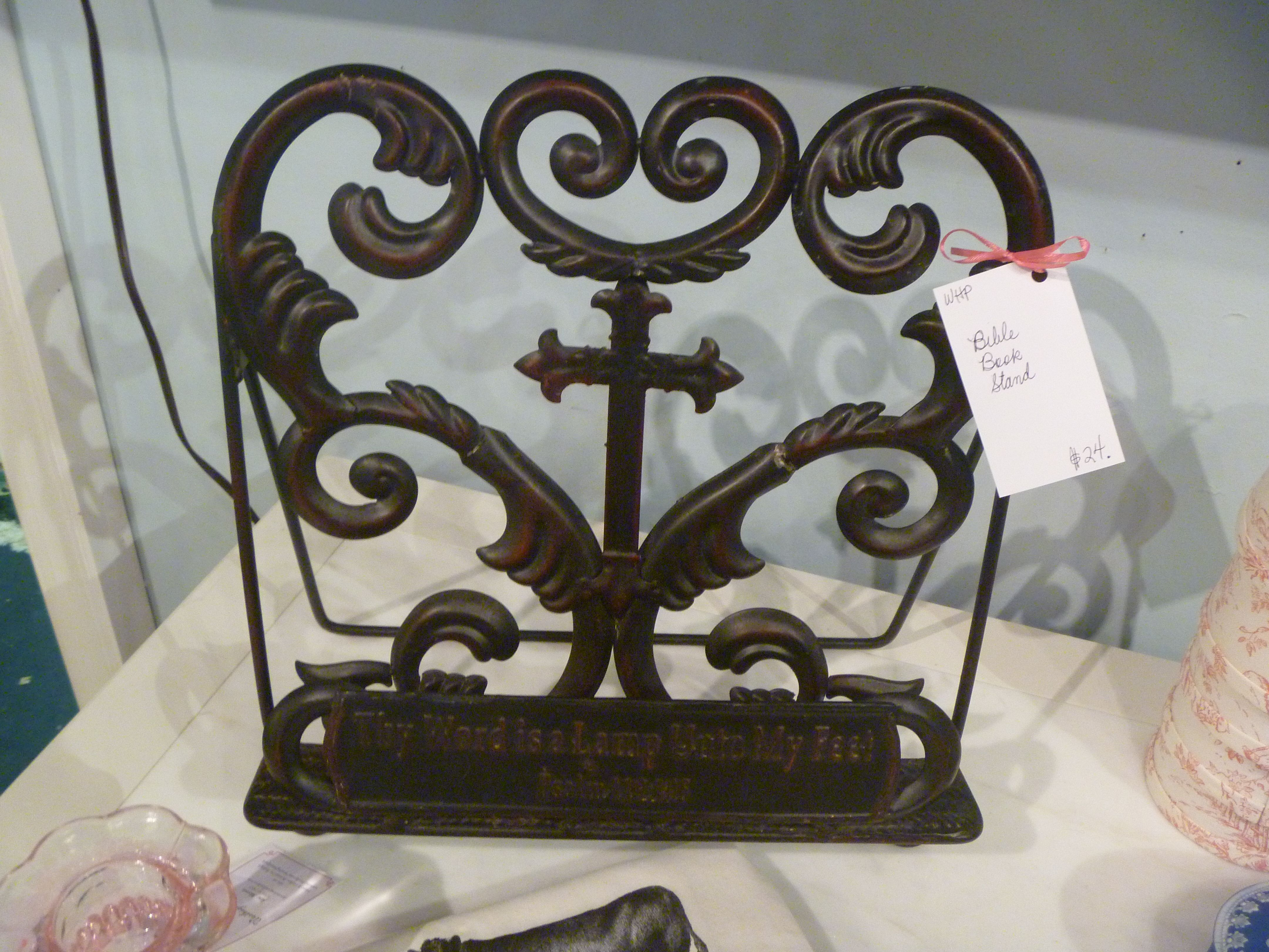 sold bible book stand whp hunt gather 24 nice t