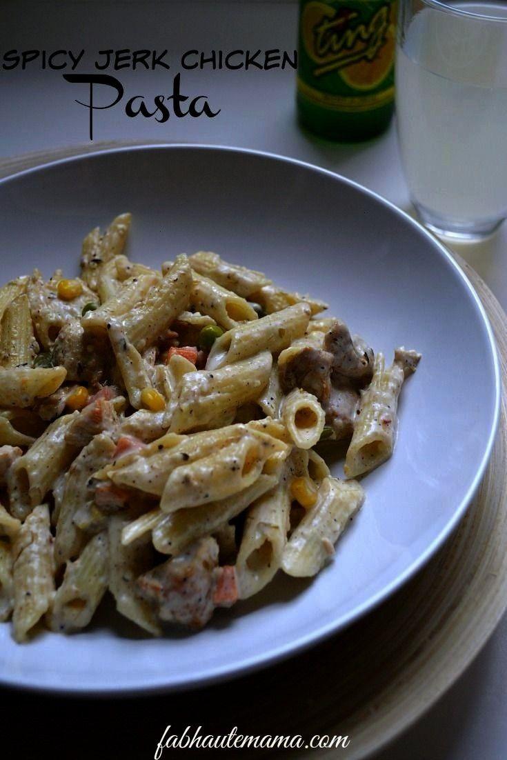 Chicken Pasta  - Supper, Dinner, amp Main Dish Recipes -Würzige Jerk Chicken Pasta  - Supper, Dinn