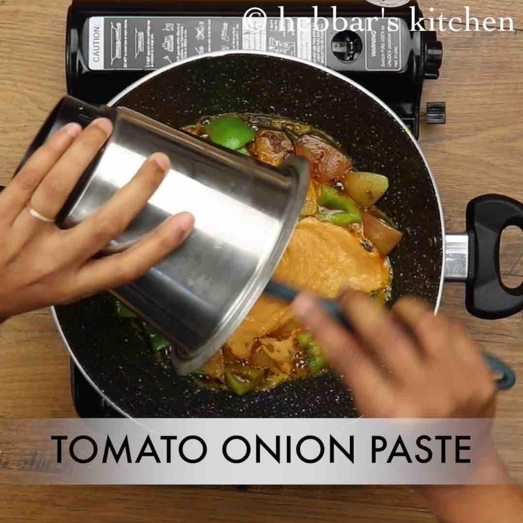 kadai paneer recipe karahi paneer how to make kadai paneer gravy recipe paneer recipes on hebbar s kitchen kadai paneer id=19297