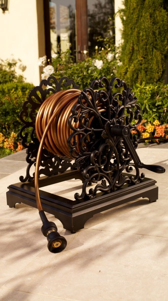 Our elegant Classic Hose Reel is designed to look great and function ...