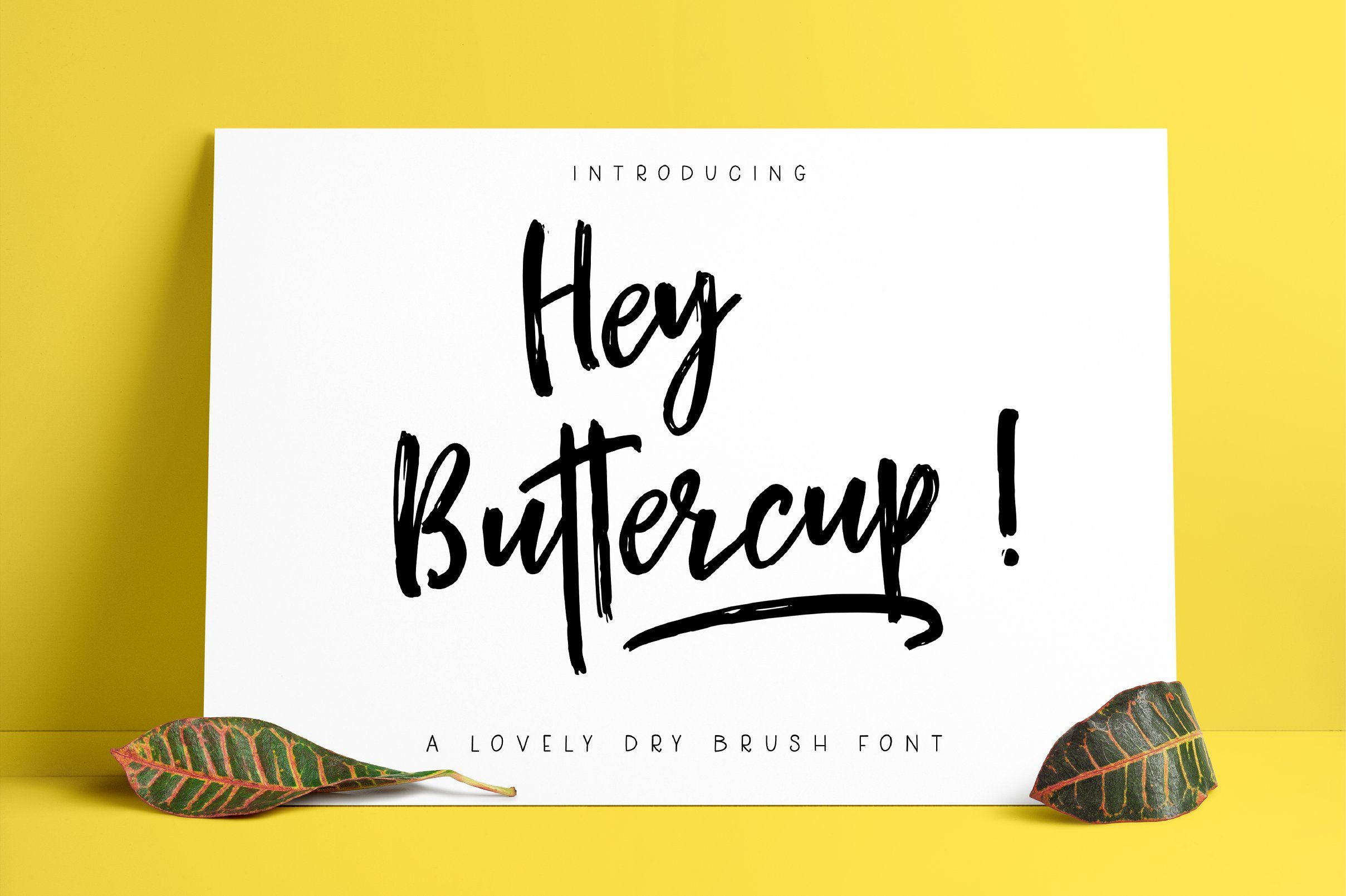 Hey buttercup font extras beautiful typography pinterest presenting hey buttercup a classy brush textured handwritten font with its quick brush strokes and cursive style hey buttercup makes for the perfect thecheapjerseys Images
