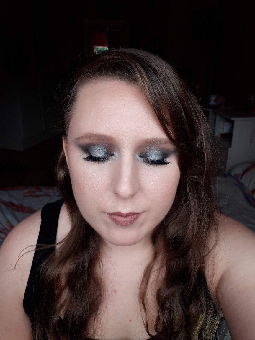 Dark smokey eyeshadow look makeuptutorial makeup