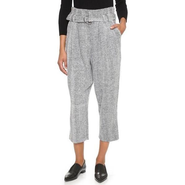 Line & Dot the Waist Trousers as seen on Gigi Hadid