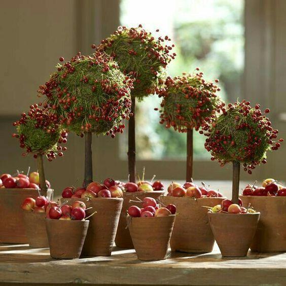 Осіння флористика: 22 яскраві ідеї | Ідеї декору #herfstdecoraties