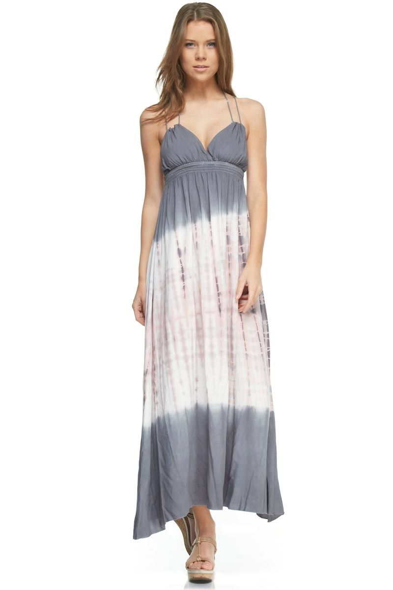 1000  images about Tie Dye Maxi Dress on Pinterest - Types of ...