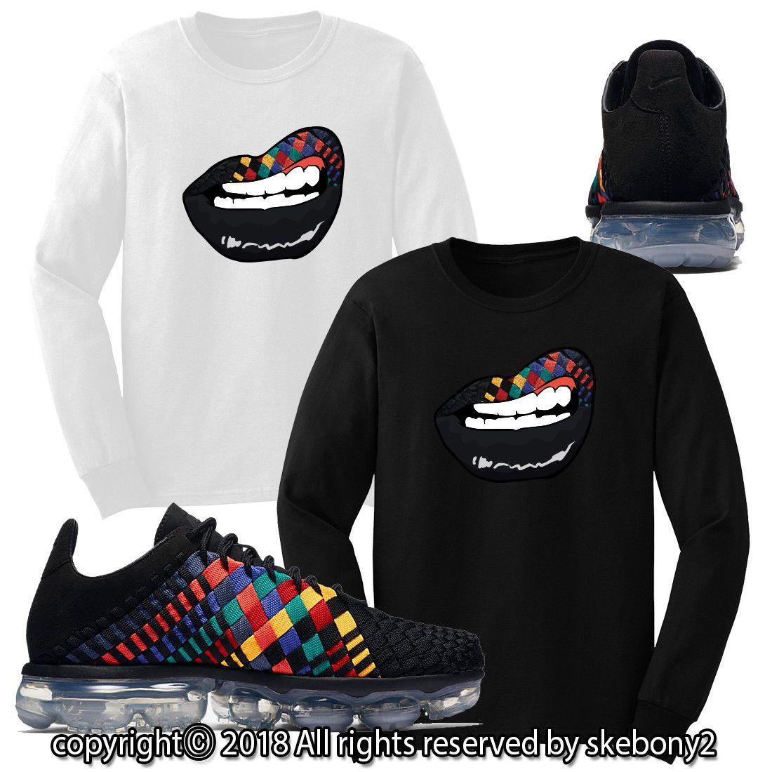 44730732 34.99 | NEW CUSTOM T SHIRT matching Nike Air VaporMax Inneva Rainbow AVPI 1-