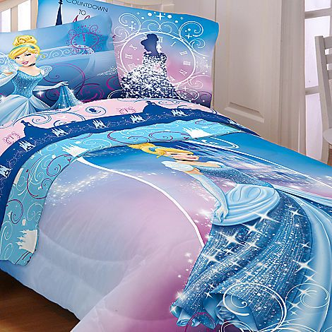 Cinderella Comforter Twin Full Bedding Disney Store