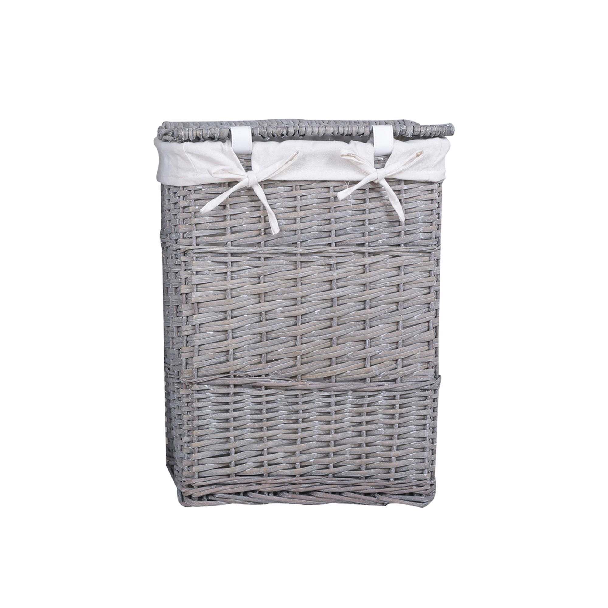 Versailles Grey Square Laundry Basket In 2020 Laundry Basket
