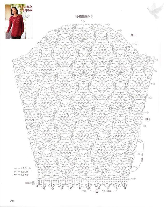 Maravilhas do Crochê: Crochê com Motivo Abacaxi | CROCHET ...