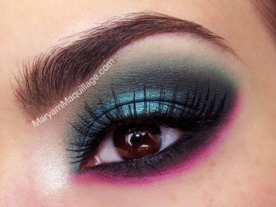 Emerald with a Pop on Makeup Geek