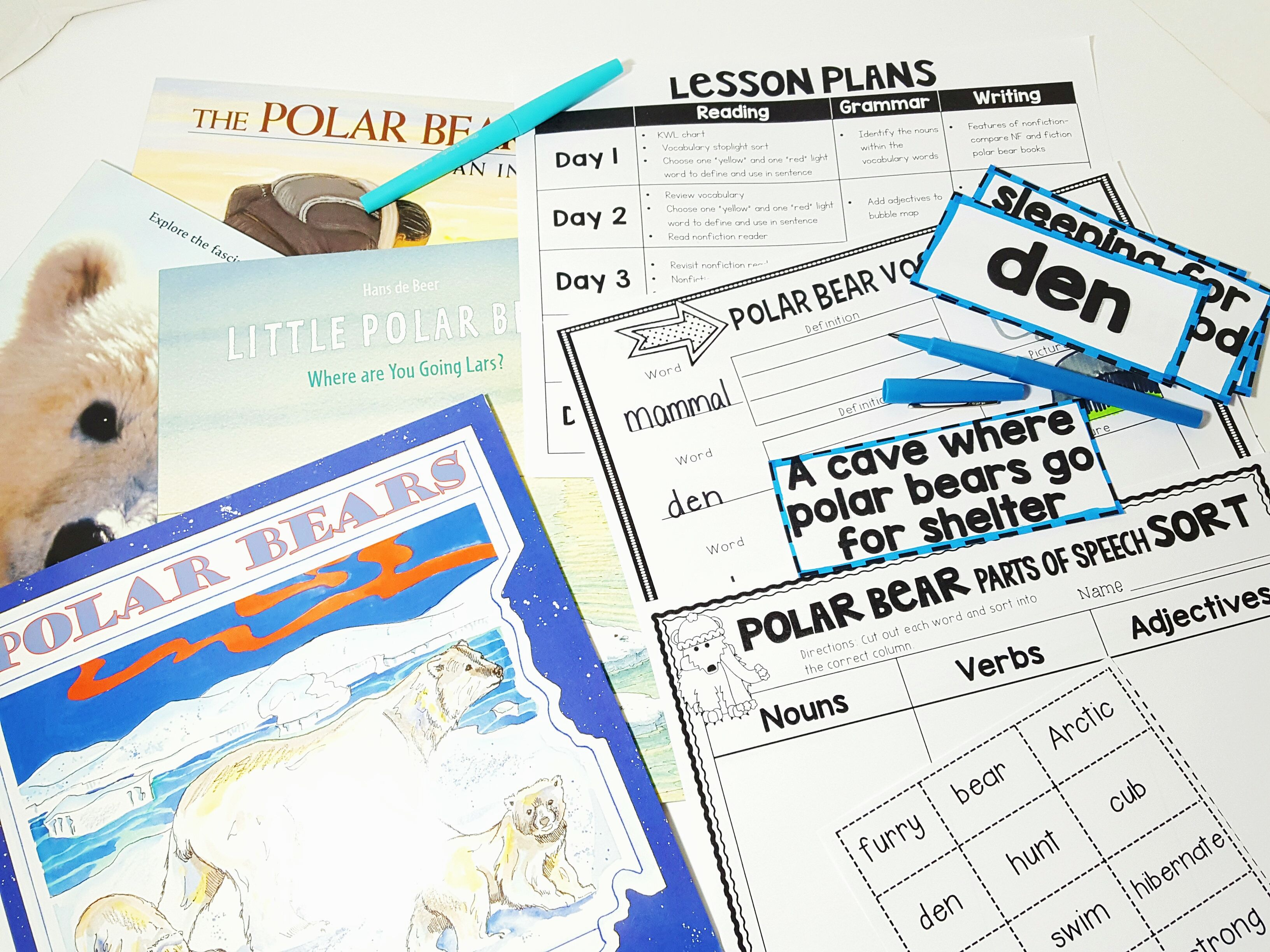 This Nonfiction Unit About Polar Bears Includes Everything
