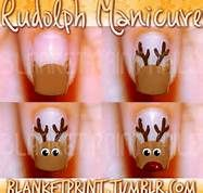 rudolph manicure - Bing Images