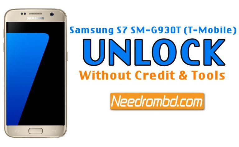 Samsung S7 SM-G930T (T-Mobile) Unlock Without Credit