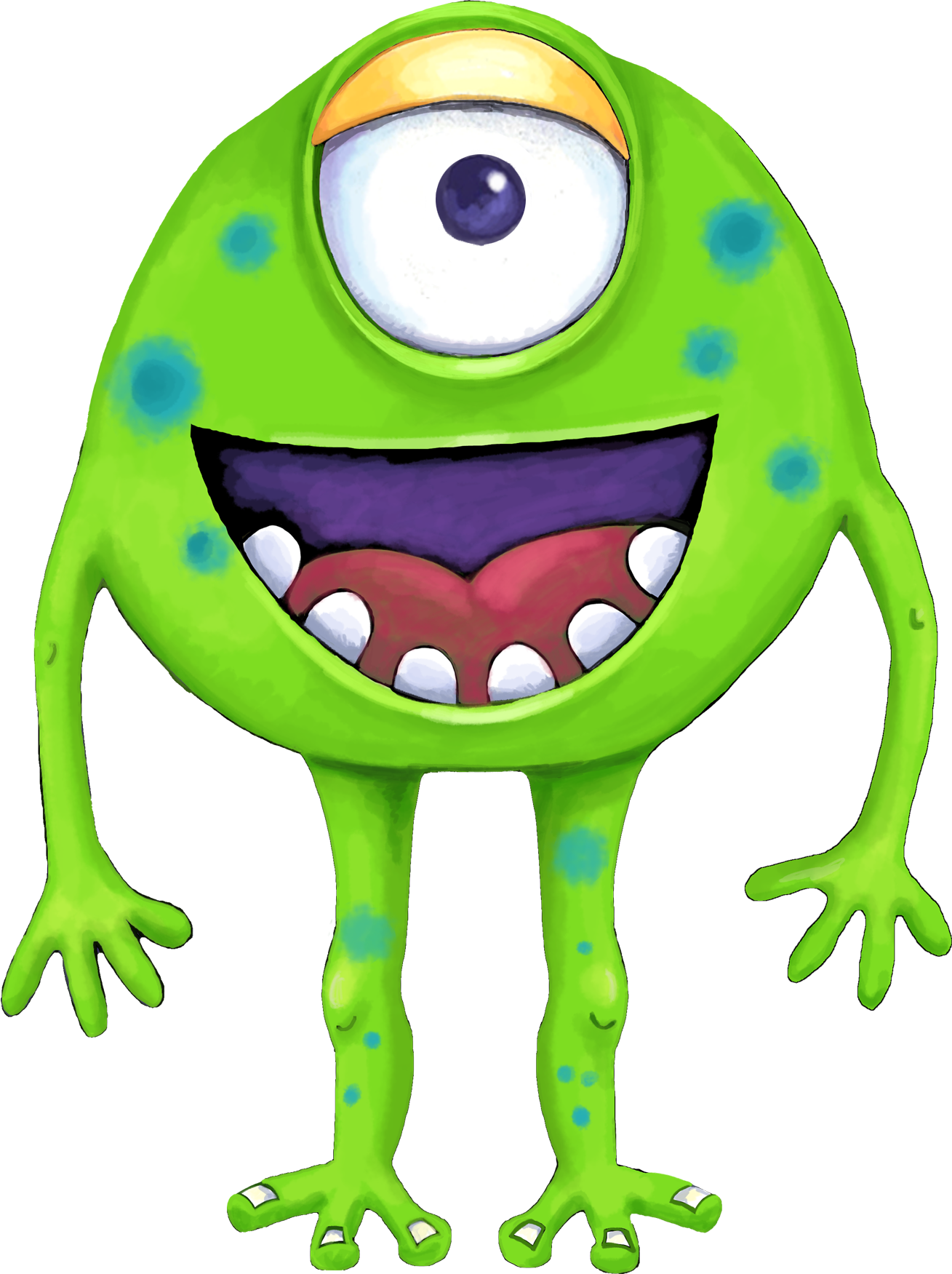 green monsters cute monsters monsters inc little monsters scary monsters goblin [ 1309 x 1751 Pixel ]