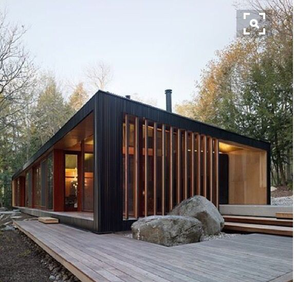 @curiousarchitect Clear Lake Cottage by MJMA. Parry Sound, Canada.