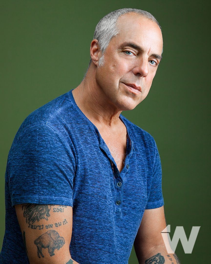 now on the site bosch star titus welliver reveals the ForTitus Welliver Tattoos
