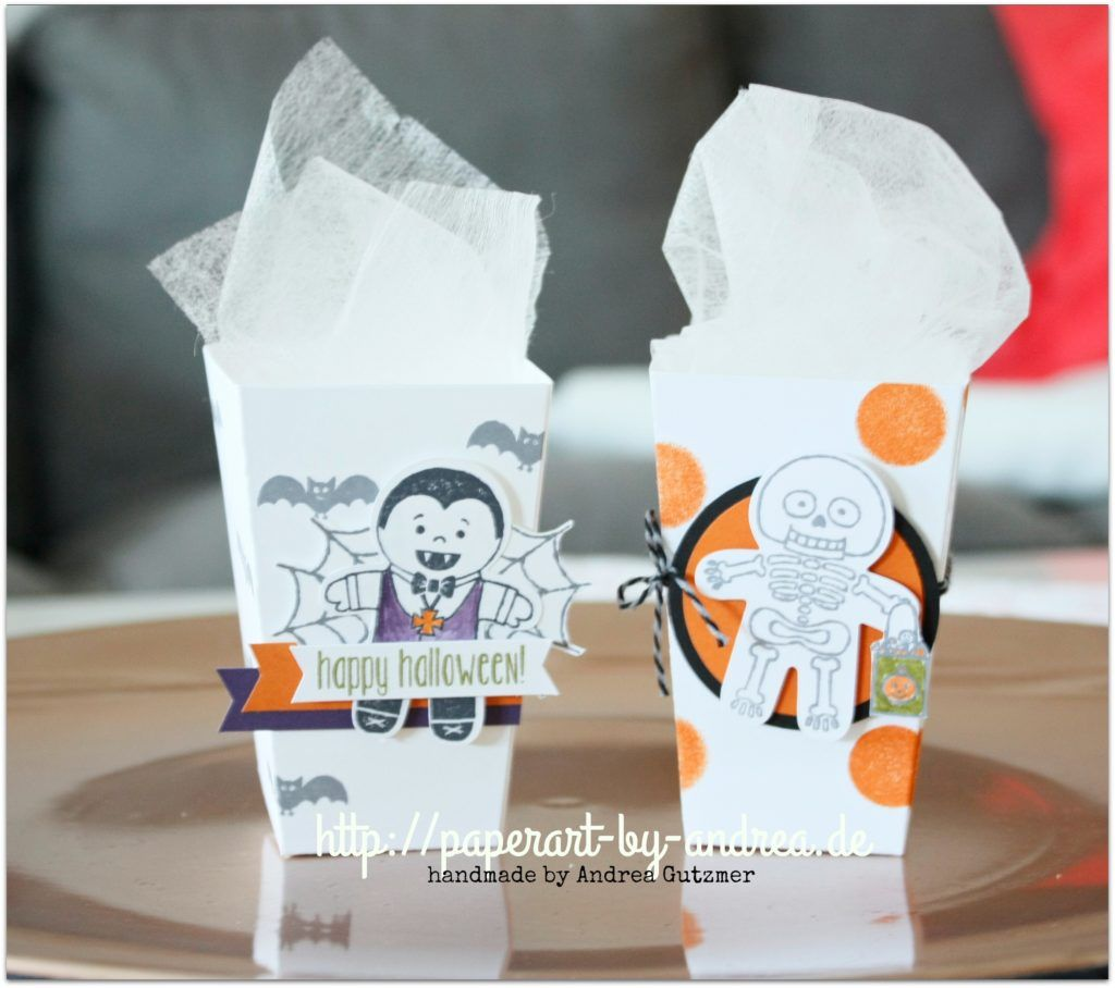 Cookie Cutter Halloween, Popcorn Box Thinlits | stampin up ...