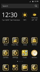 Cm Launcher Luxury Gold Theme Free Android Theme Download