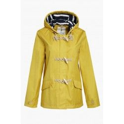 Seasalt clothing have brought back their bestselling seafolly rain mac in great new colours. Made from seasalts famous tin cloth, this jacket looks great, feels great and is so practical when you're out and about. In stock now for a fast despatch.