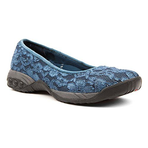 96474c092 THERAFIT Womens Coco Navy Flat 95 M ** You can find more details by  visiting the image link. Note:It is Affiliate Link to Amazon.