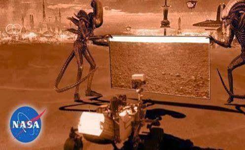 """NASA silêncio sobre Artefatos """"Históricos"""" em Marte"""