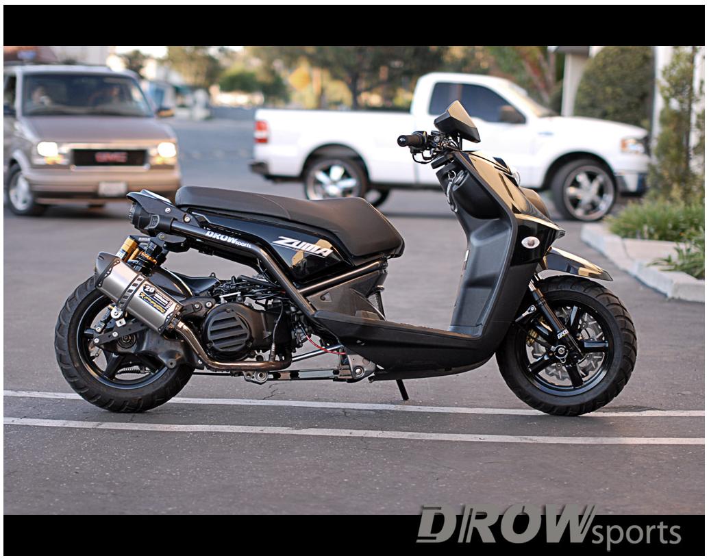 Yamaha Zuma 125 | My Style | Yamaha scooter, Scooter bike, Motorcycle