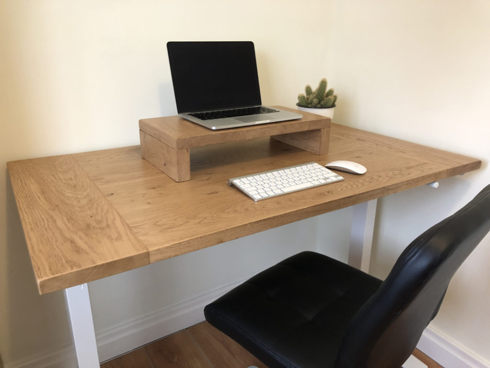 Manual Sit To Standing Desk Review Ft Ikea Karlby Countertop Ikea Standing Desk Adjustable Standing Desk Ikea Ikea Desk