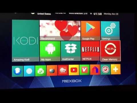 NEXBOX A95X firmware update fix | kodi/Cut the Cord in 2019 | Kodi