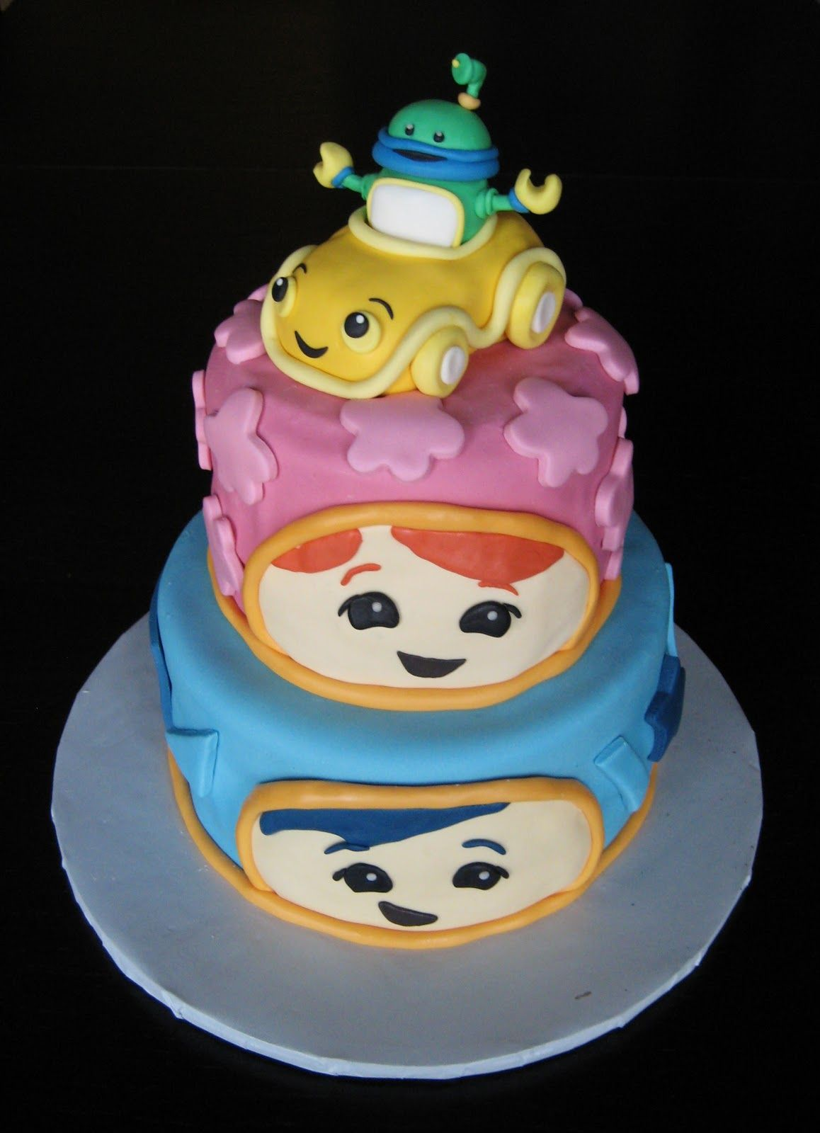 Remarkable Team Umizoomi Cake With Images Cake Birthday Cake Toppers Personalised Birthday Cards Arneslily Jamesorg