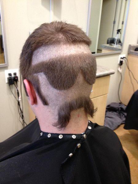 Der Haarschnitt Des Tages Lustige Frisuren Mittellange Haare Frisuren Einfach Haar Styling