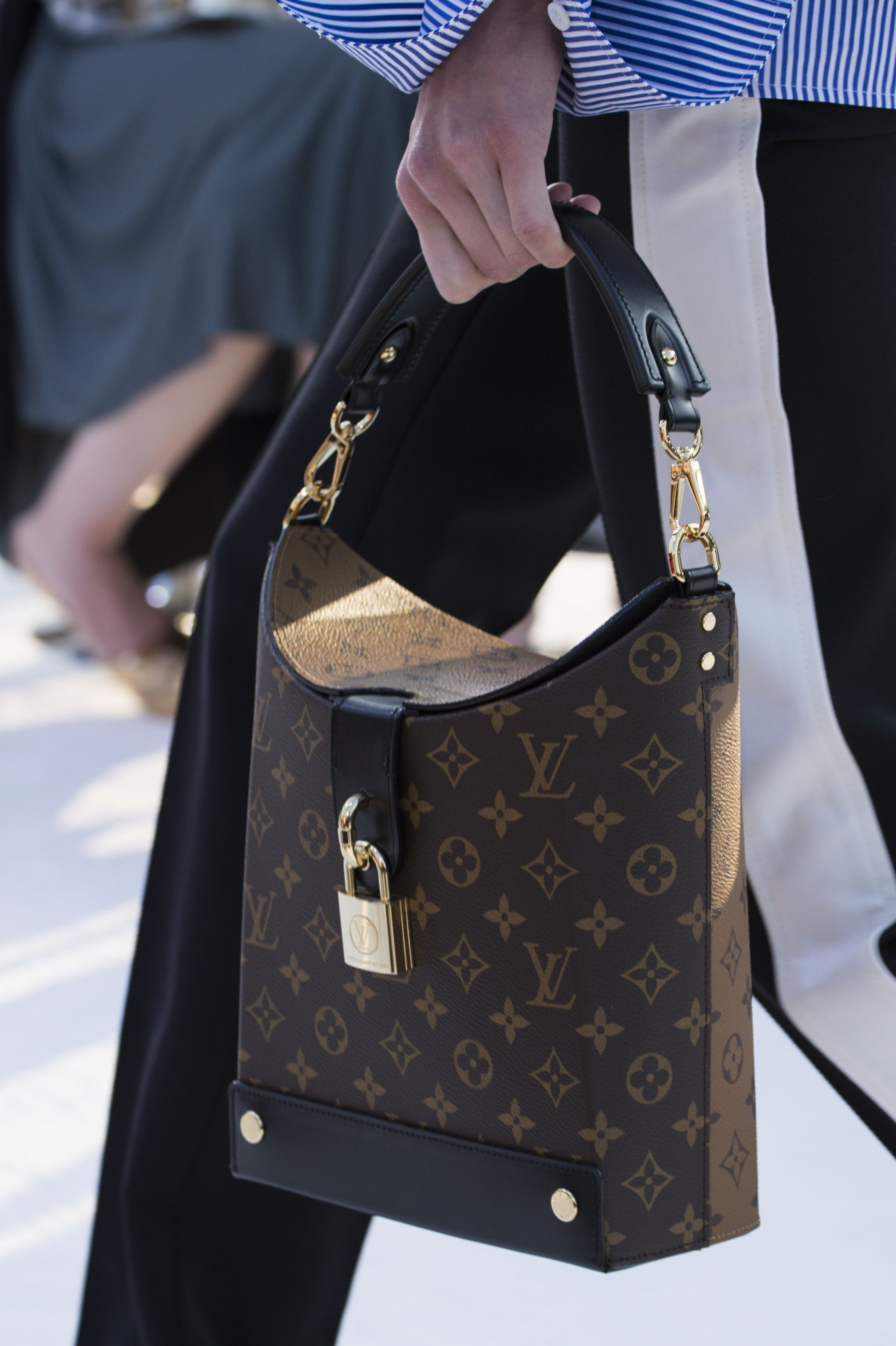 A closer look at a bag from the Louis Vuitton Cruise 2018 ...