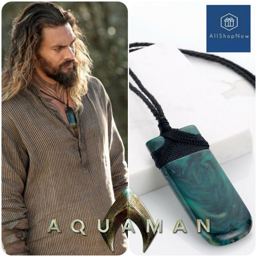 Costume Props Costumes & Accessories Aquaman Arthur Curry Pendant Necklace Maori Jade Adze Toki Cosplay Jewelry
