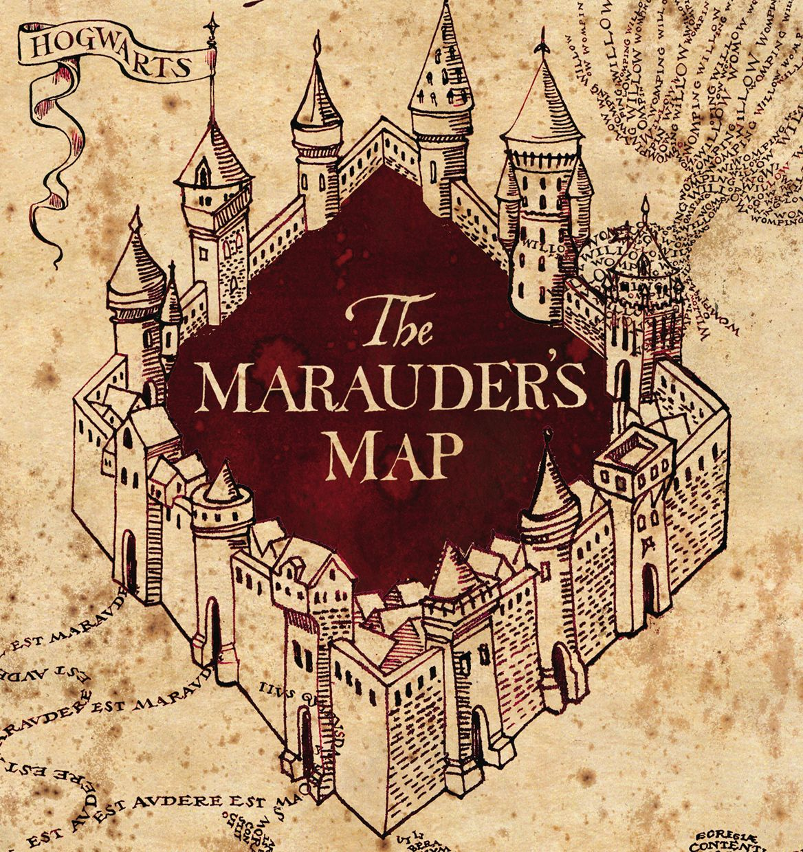Crafting with court canvas shoe decoration marauder s map edition harry potter
